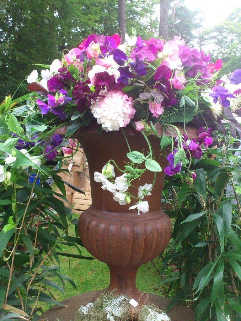 blomster arrangemang